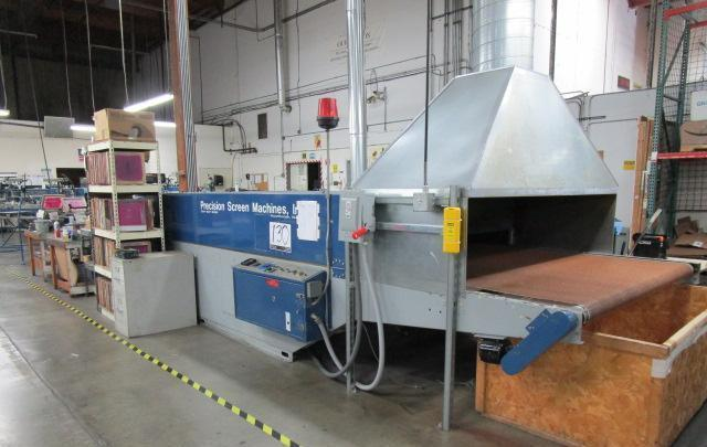 Tiger Group Conducts Auction Featuring Screen Printing and Embroidery Equipment